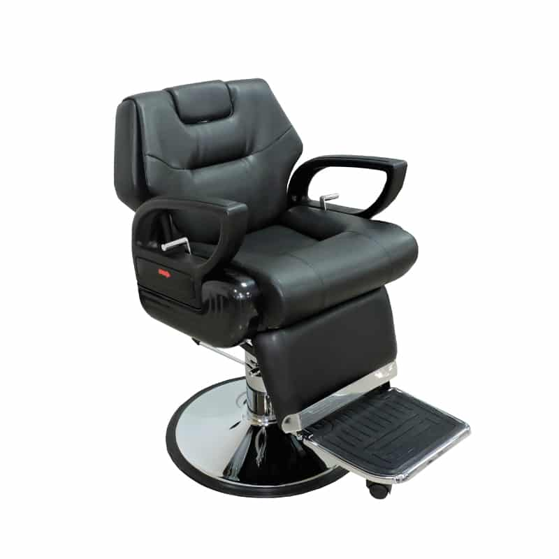 Silla de barber a ref 38010 f brica royal muebles de for Sillas para barberia