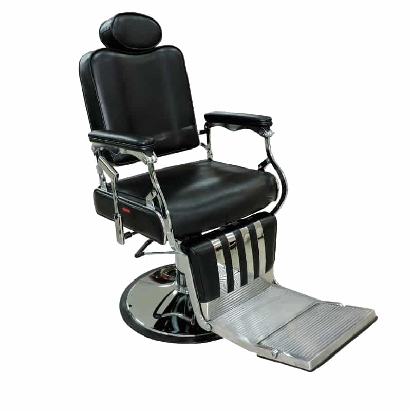Silla barbero b017 f brica royal muebles de belleza y for Sillas para barberia