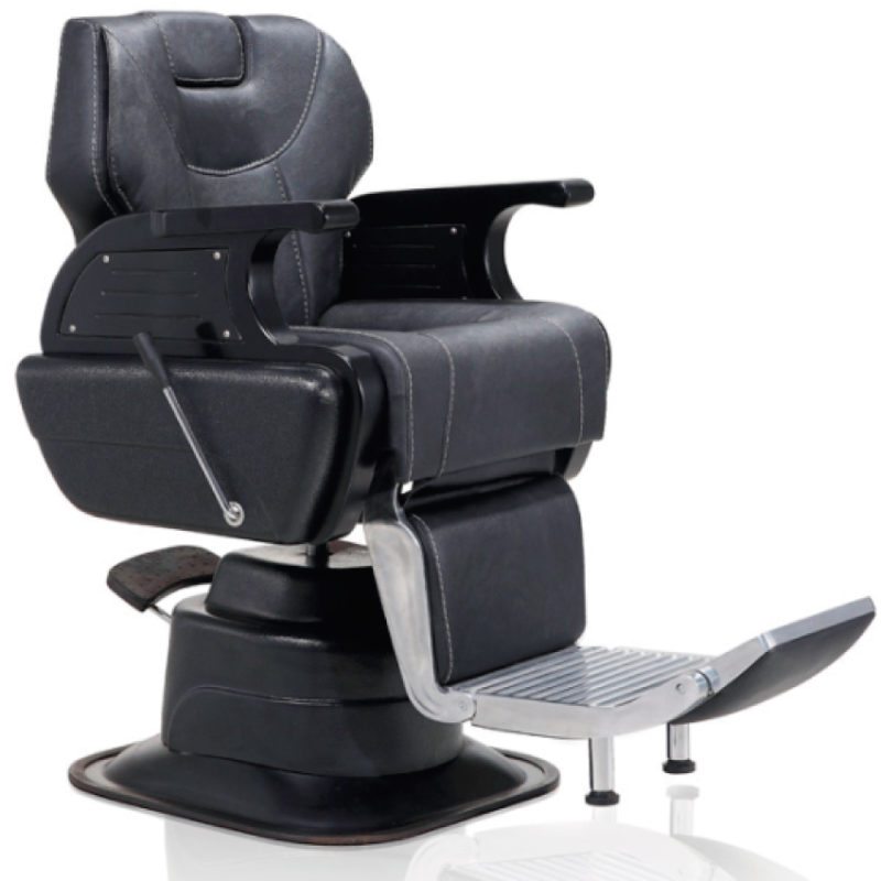 Silla barbero ref 8738 f brica royal for Sillas para barberia