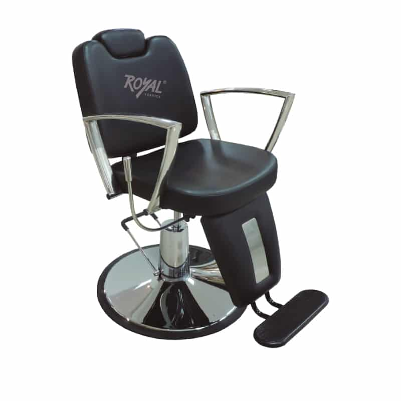 Silla ecualizable ref k3169 f brica royal for Sillas para barberia