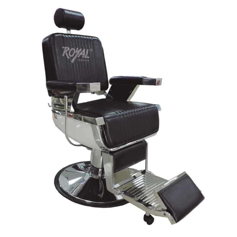 Silla barbero ref 38000 f brica royal for Sillas para barberia