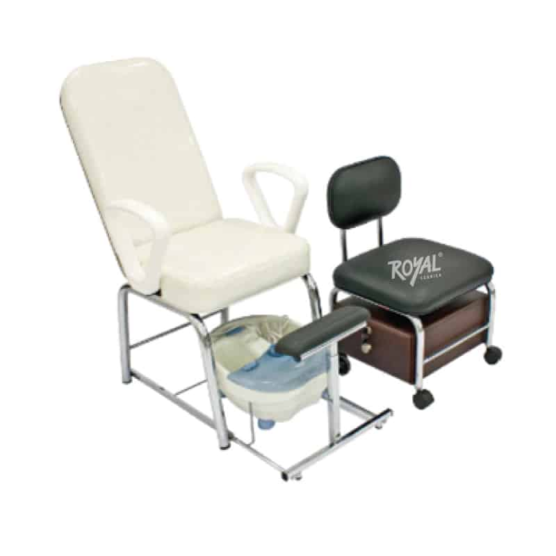 Juego de pedicure ref 116a f brica royal for Sillas para pedicure
