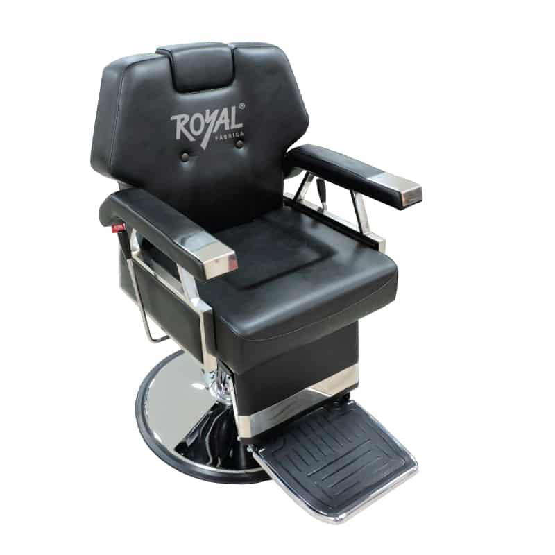 Silla ecualizable ref 38003 f brica royal for Sillas para barberia