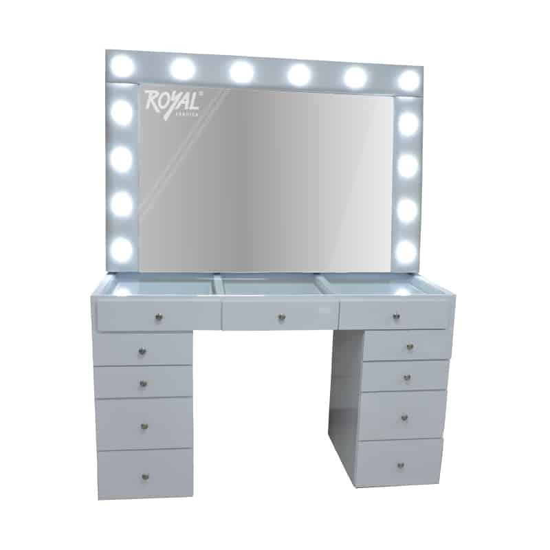 Tocador de maquillaje ref 183 f brica royal - Tocador con espejo y luces ...