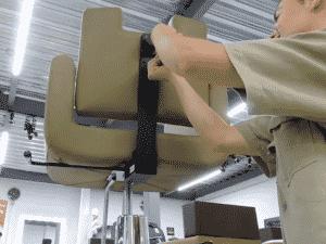¿Cómo cambiar un ecualizable mecánico de una silla Royal?