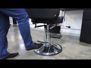 ¿Cuál es el Funcionamiento de los hidráulicos para una silla de Barbería Royal?